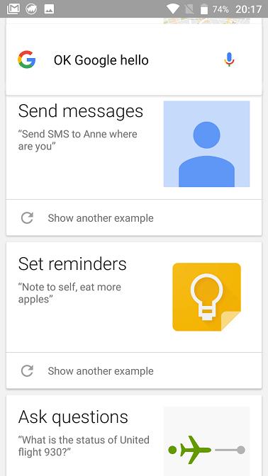 ok, google! controleaza telefonul mobil prin voce, insa limitat