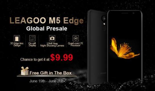 leagoo m5 edge precomanzi globale, sansa de a-l cumpara cu 9.99 usd