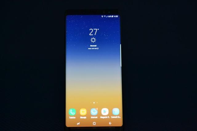 review (1) samsung galaxy note 8, totul despre ecran
