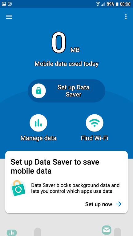 datally, aplicatie google pentru economisirea datelor mobile