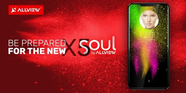 "Allview X5 Soul allview x5 soul devine oficial, telefon cu ""notch""!"