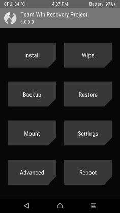 Theme twrp grey