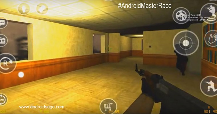How to install Run Counter Strike 1.6 On-Android