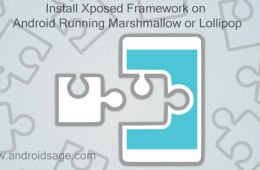 Install Xposed Framework on Marshmallow