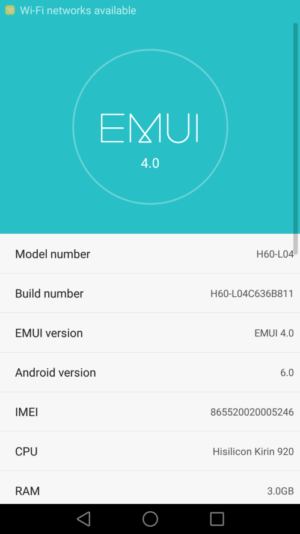 Download Marshmallow On Honor 6 H60-L04 With B811