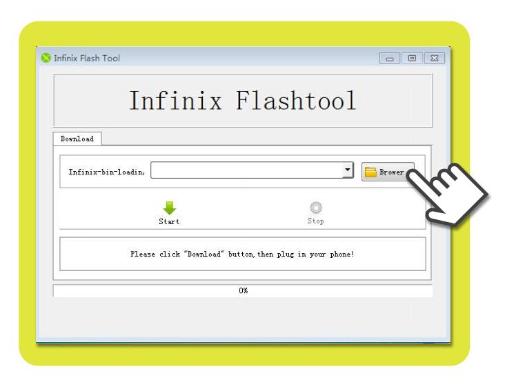 SP Flash tool usage