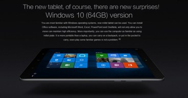 Xiaomi Mi Pad 2 Windows 10 Version Now Available for Just $229.89