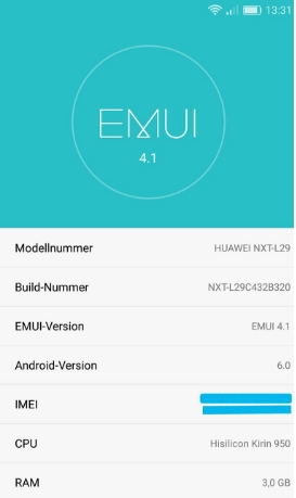Download Huawei Mate 8 B320 EMUI 4.1 Android 6.0 Marshmalllow Firmware update
