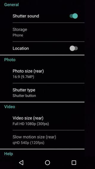 Download Moto G4 camera app 2