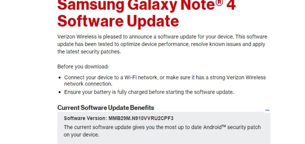 How to Install Verizon Note 4 N910VVRU2CPF3 & PD1 Marshmallow Firmware