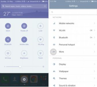 Download MIUI 8 ROM Screenshots for China Alpha ROM 6.6.1 Xiaomi Mi 4,5