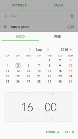 Note UX Project Grace Calendar App and widgets
