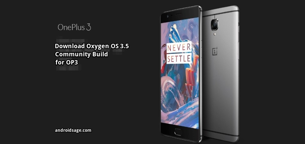 downlaod & Install latest Oxygen OS 3.5.0
