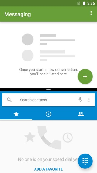cyanogenmod 14 android 7.0 nougat screenshots