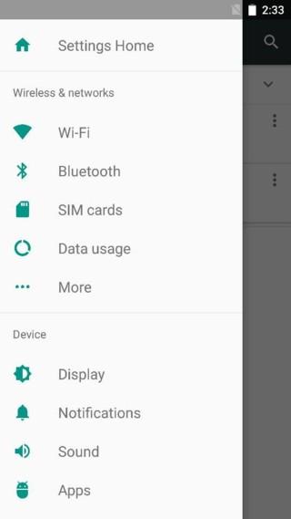 cyanogenmod 14 settings panel CM 14 screenshots