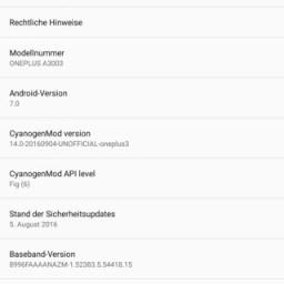 downlaod Cm 14 for OnePlus 3 screenshots