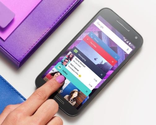 Moto G4 Motorola - nougat update