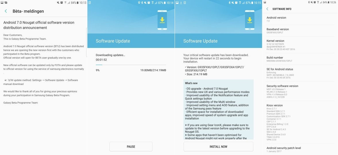 Top Five Android 7 0 For S7 Edge Download - Circus