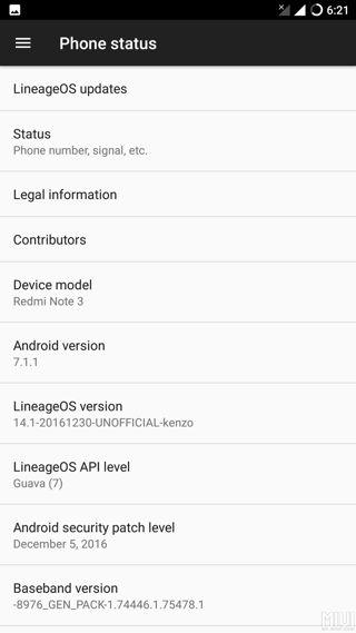 Lineage OS 14.1 Screenshot_20161230-182143