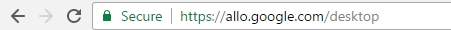 Google Assistant desktop version URL