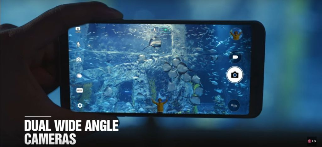 LG G6 Official Product Video wide angle camers