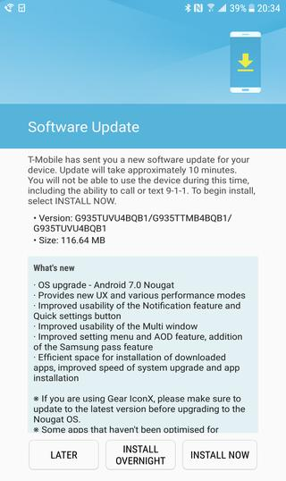T mobile Official Android 7.0 Nougat