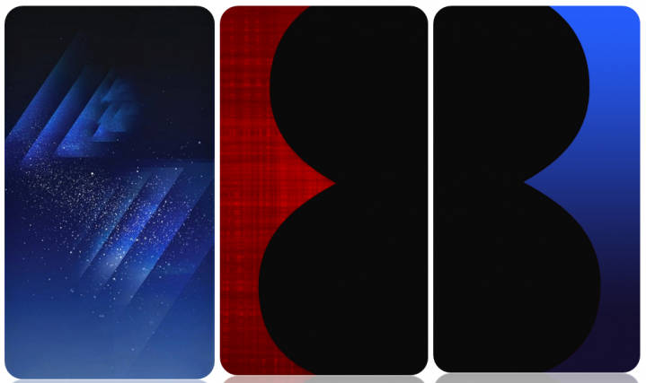 Download Samsung galaxy S8 stock wallpapers total 7 homescreen and lockscreen
