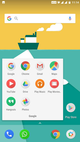 Download oneplus launcher 2.0 round icons
