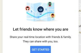 How to enable Google Maps Location Sharing and how to use it