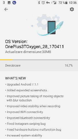 Download Oxygen OS 4.1.3 OTA for OnePlus 3 and OnePlus 3T changelog