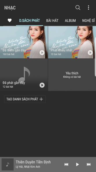 Galaxy S8 Plus Dream UX music