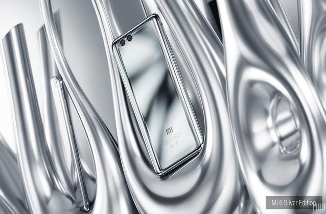 Mi 6 mirror glass