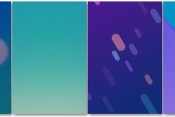 Xiaomi Mi 6 Stock theme wallpapers