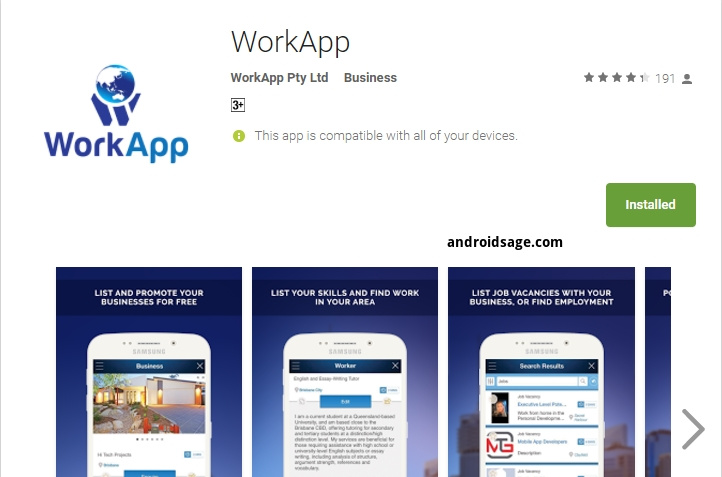 WorkApp review - Android Apps on Google Play