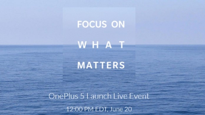 features and Specifications of New One Plus 5 and OnePlus 5 global launch