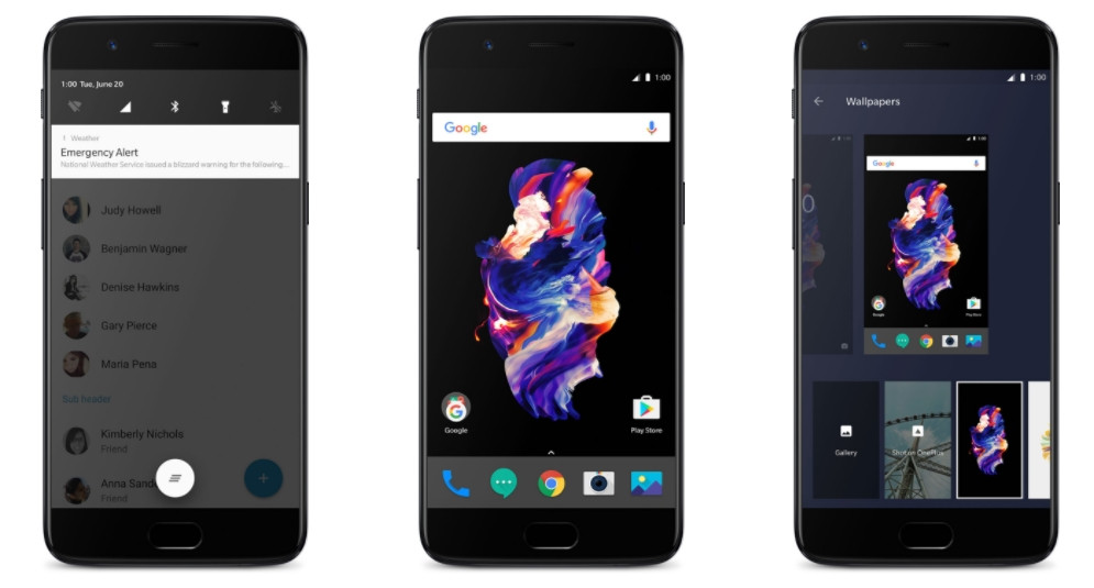 Download and install stock OnePlus 5 launcher on OnePlus 3 3t 2