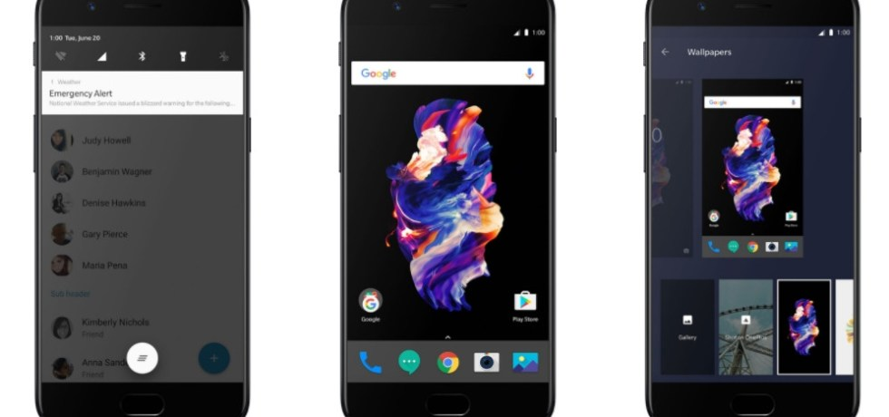 Download and install stock Oneplus 5 Oxygen OS 4.5.1 now available OTA update and full ROM