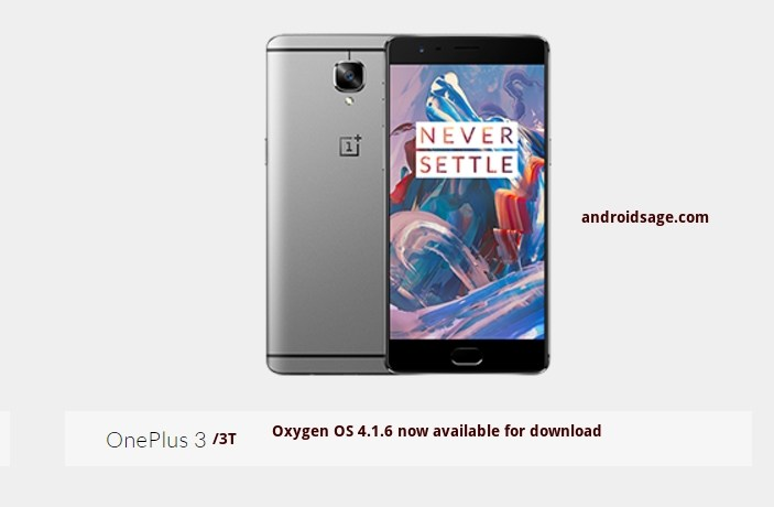 Downloads - OnePlus.net - Oxygen OS 4.1.6 OnePlus 3-3T Download and install
