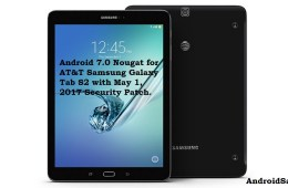 Nougat for AT&T Galaxy Tab S2 SM-T818A
