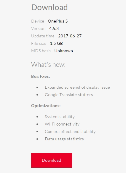 OnePlus 5 official Oxygen OS 4.5.3 _ Downloads - OnePlus.net - Google Chrome 2017-06-27 11.46.50