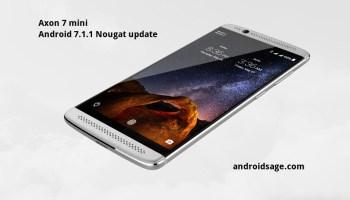 Download ZTE Axon 7 Nougat B10 and Oreo Stock Firmware, OTA updates