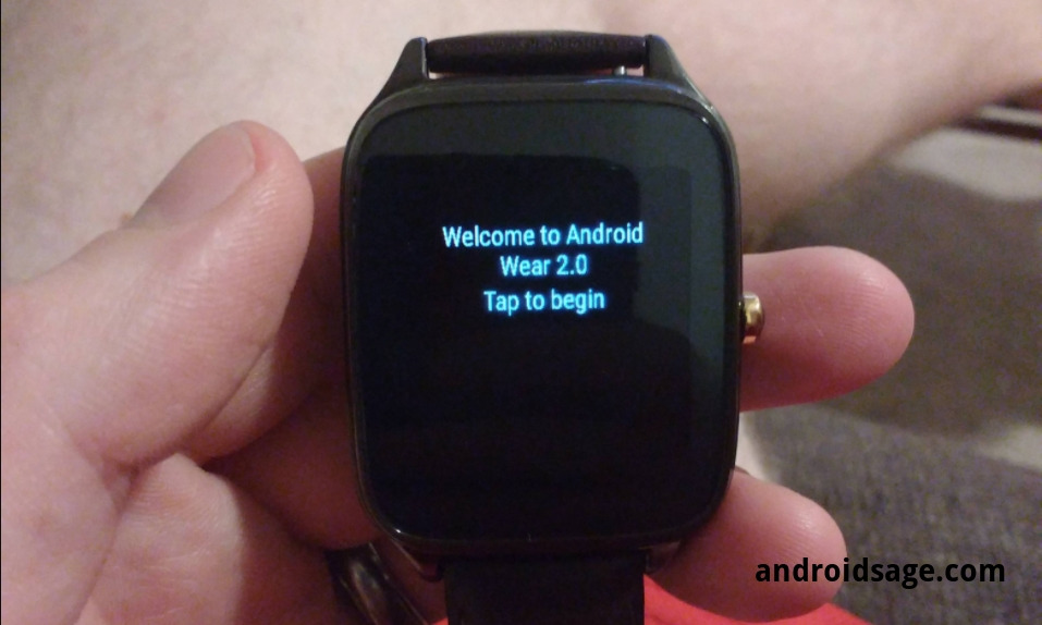 Android Wear 2.0 for Asus ZenWatch 2 [OTA Download and install]