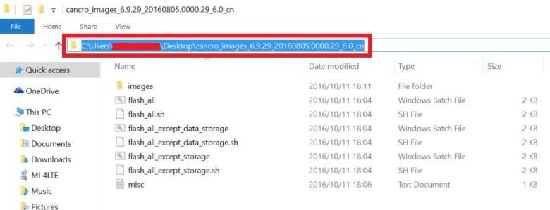 How to install MIUI 9 ROM onto Xiaomi using MiFlash tool