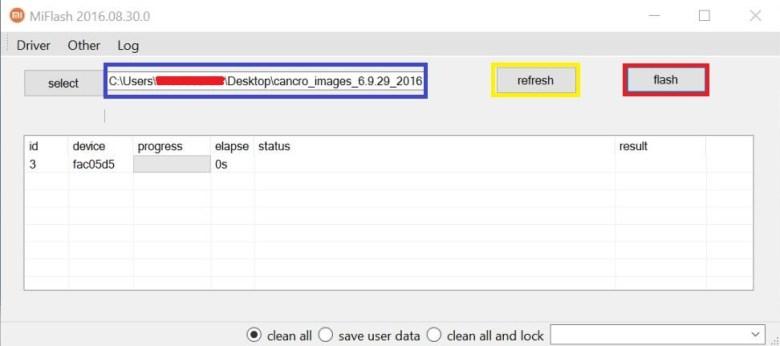How to install MIUI 9 ROM onto Xiaomi using MiFlash tool2