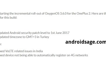 Oxygen OS 3 5 8 for OnePlus 2 with March 2017 security patch