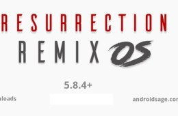 Download & Install Resurrection Remix 5.8.4 with August 2017 security patch