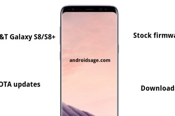 Download Samsung AT&T Galaxy S8 and S8 Plus Firmware files and OTA updates