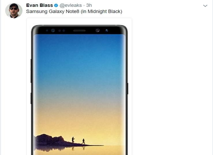 Samsung Galaxy Note 8 Evan Blass