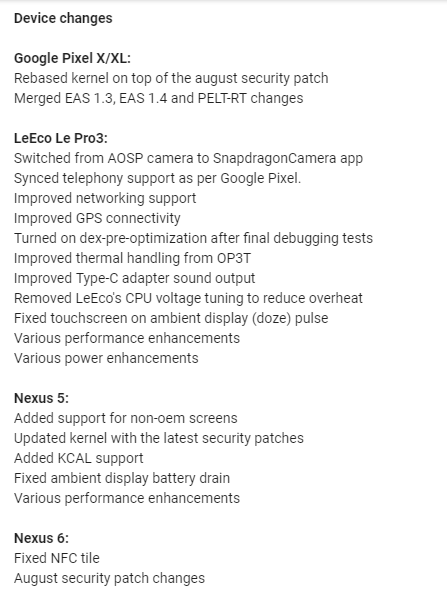 Paranoid Android 7.2.3
