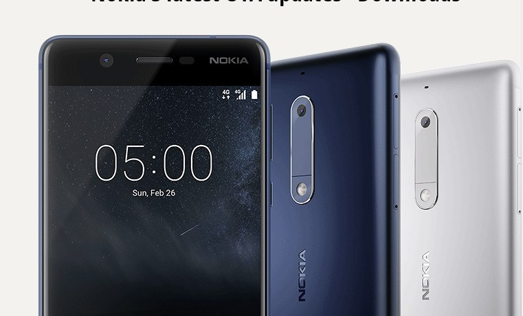 Download and install Nokia 5 latest OTA updates with September 2017 security patch 7.1.1 Nougat